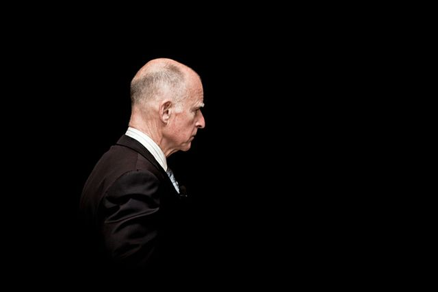 Gov. Jerry Brown's mix of doom and gloom with pragmatic optimism has compelled Californians to take steps to combat climate change.