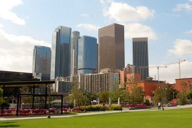 Knowing Los Angeles is going to get warmer and gain population, the Sustainable LA Grand Challenge aims to develop solutions that are environmentally and economically sustainable, as well as socially equitable.