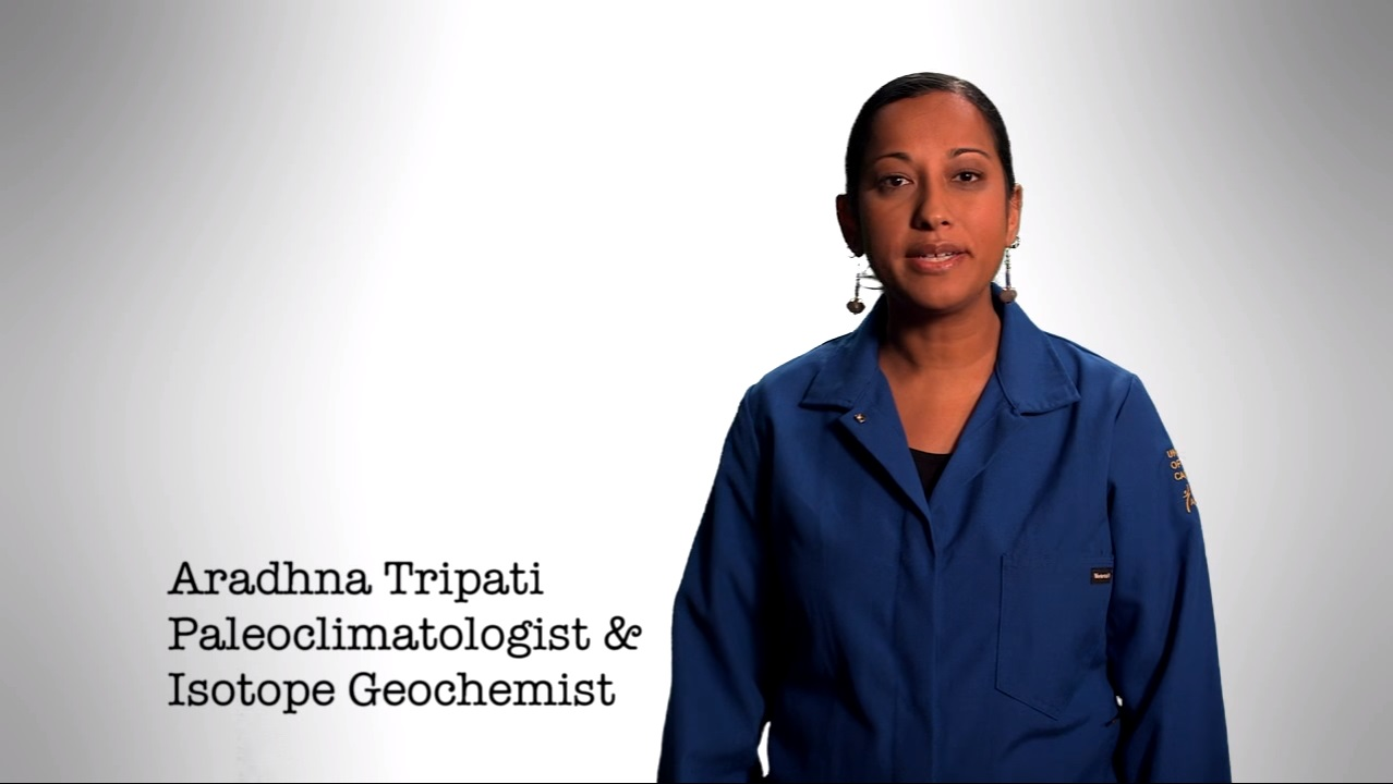 UCLA climate scientist Aradhna Tripati decries climate change deniers on Jimmy Kimmel Live.