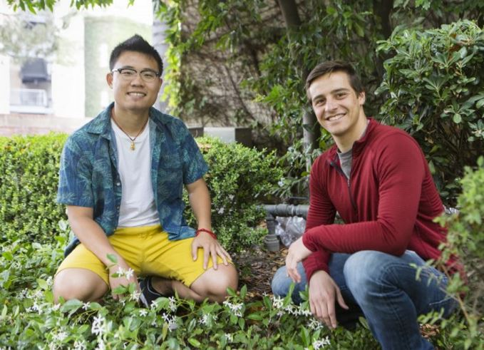 The Green Initiative Fund awarded a grant to UCLA students to build a campus rainwater capture system. The system could save more than one million gallons of water per year.