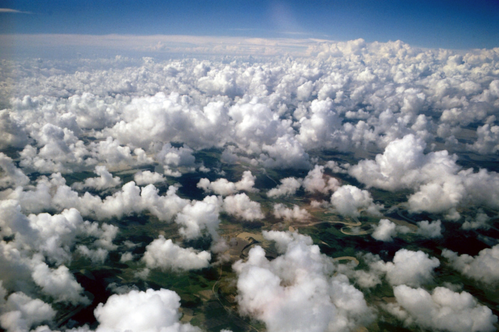 About 70 percent of Earth is covered by clouds at any given moment.