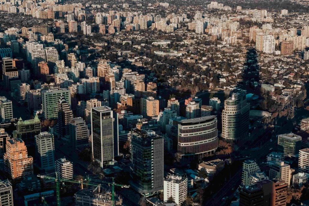 Santiago, Chile skyline. Santiago hosted the 2nd CC35 Forum.